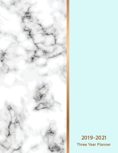 - 2019-2021 Three Year Planner: Marble Texture 36 Months Calendar Monthly Planner Schedule Organizer Agenda Appointment Notebook Personal Time ... (Three year planner 2019-2021) (Volume 5)