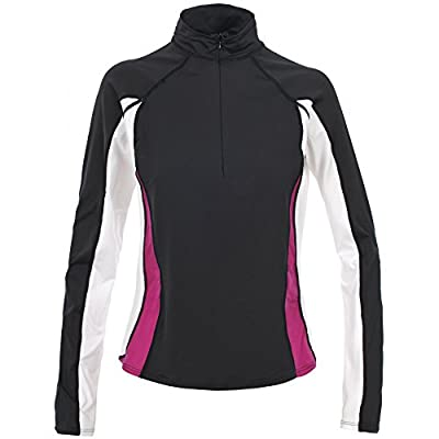 Trespass Womens/Ladies Tussle Active Long Sleeve Zip Neck Baselayer Top