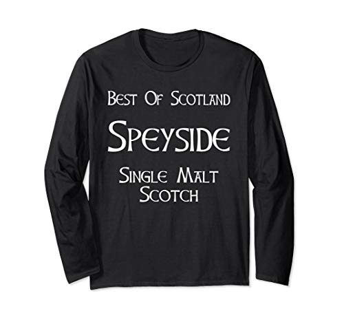 Best Of Scotland Speyside Single Malt Scotch Whiskey T-Shirt ()