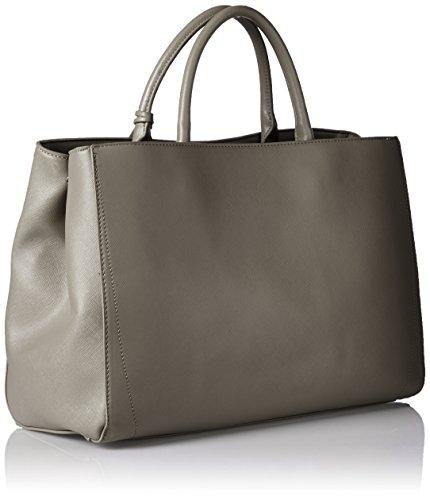 LYDC G1705 - Bolsos totes Mujer Gris (Grey)