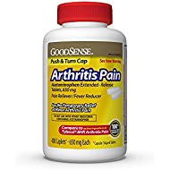 GoodSense Arthritis Pain Acetaminophen Extended-Release Tablets, 650 Mg, 400 Count