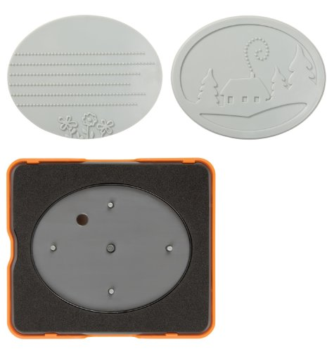 Fiskars 100820-1001 Oval Design Set, Simple Pattern, Medium by Fiskars