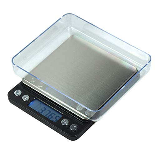 Horizon ACCT-500 Digital Precision Jewelry Scale w/ Trays, 500 g by 0.01 g ()