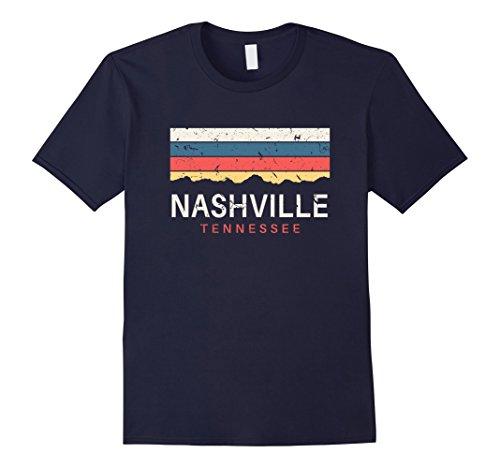 Mens Nashville Tennessee T Shirt Vintage TN Gifts Souvenirs XL Navy Tennessee Tn T-shirt
