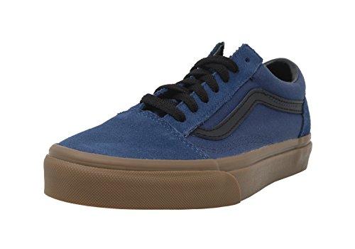 Gum Black (Vans Unisex Shoes Old Skool (Gum Outsole) Dark Denim Fashion Sneakers (11 D(M) US Men))