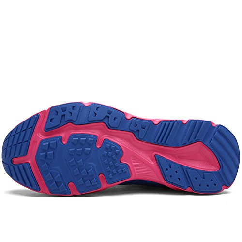 Breathable Women's and Shoes Rose Meshing Hiking Shoe Lakerom Men's Outdoor Blue wEp5tt