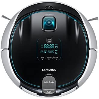 Samsung VR5000 Sin bolsa 0.6L Negro, Plata aspiradora robotizada - Aspiradoras robotizadas (Sin bolsa, Negro, Plata, Alrededor, LED, 0,6 L, 70 dB): Amazon.es: Hogar