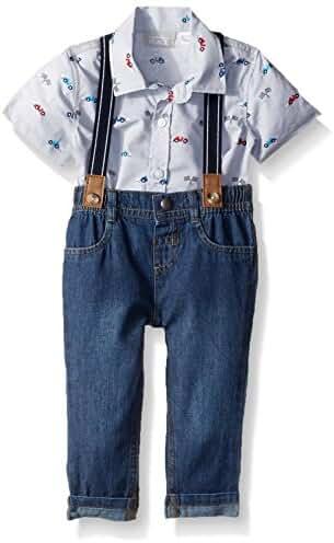 The Children's Place Baby Boys' Suspender Set
