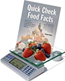 EatSmart™ Digital Nutrition Scale with Barron's Quick Check Food Facts (Paperback)