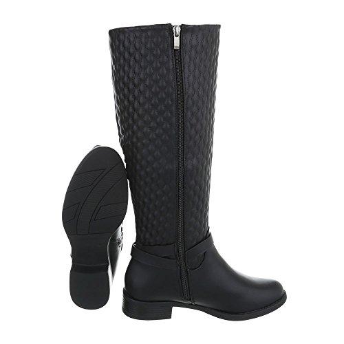 Damen Damen Moderne Schuhe Schuhe Stiefel Moderne Stiefel Schwarz Z5tcTqx
