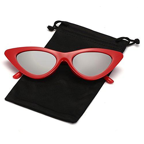 d758e0a6e0 Q EYE Cateye Sunglasses Clout Goggles Kurt Cobain Sunglasses Retro Vintage  Tinted Lens Shades for Women