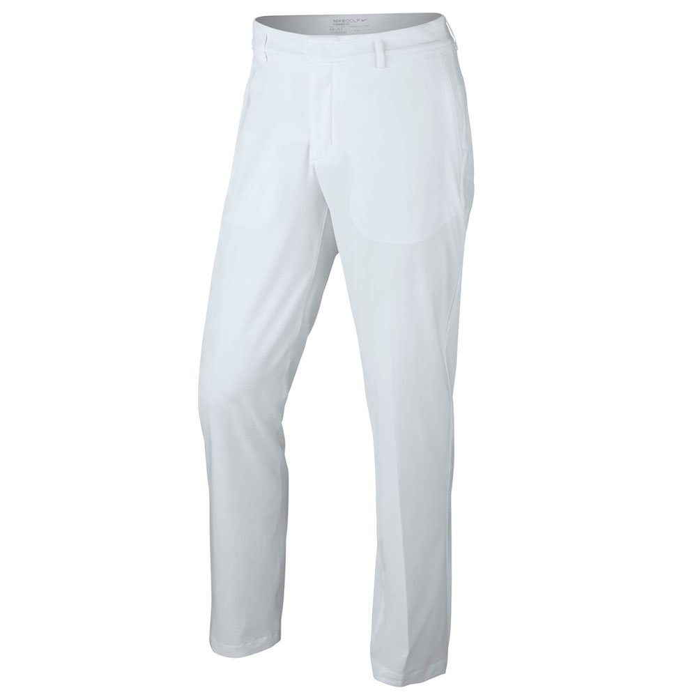 Nike Flat Front Stretch Woven Golf Pants 2017 White/Flat Silver 30/32