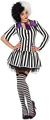 Atosa-S1102471 Guerrero Adult Sized Costumes, Color blanco/negro ...