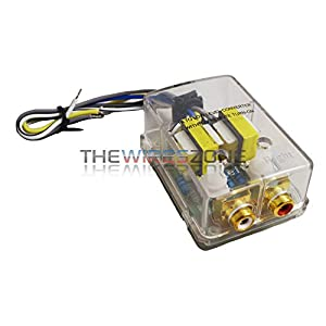 High//Low Converter with Remote Turn On Gold Female RCA Output 1 Pack IS-RM200
