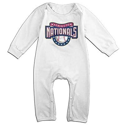 Vinda Cute Washington Baseball Nationals Romper For Baby White