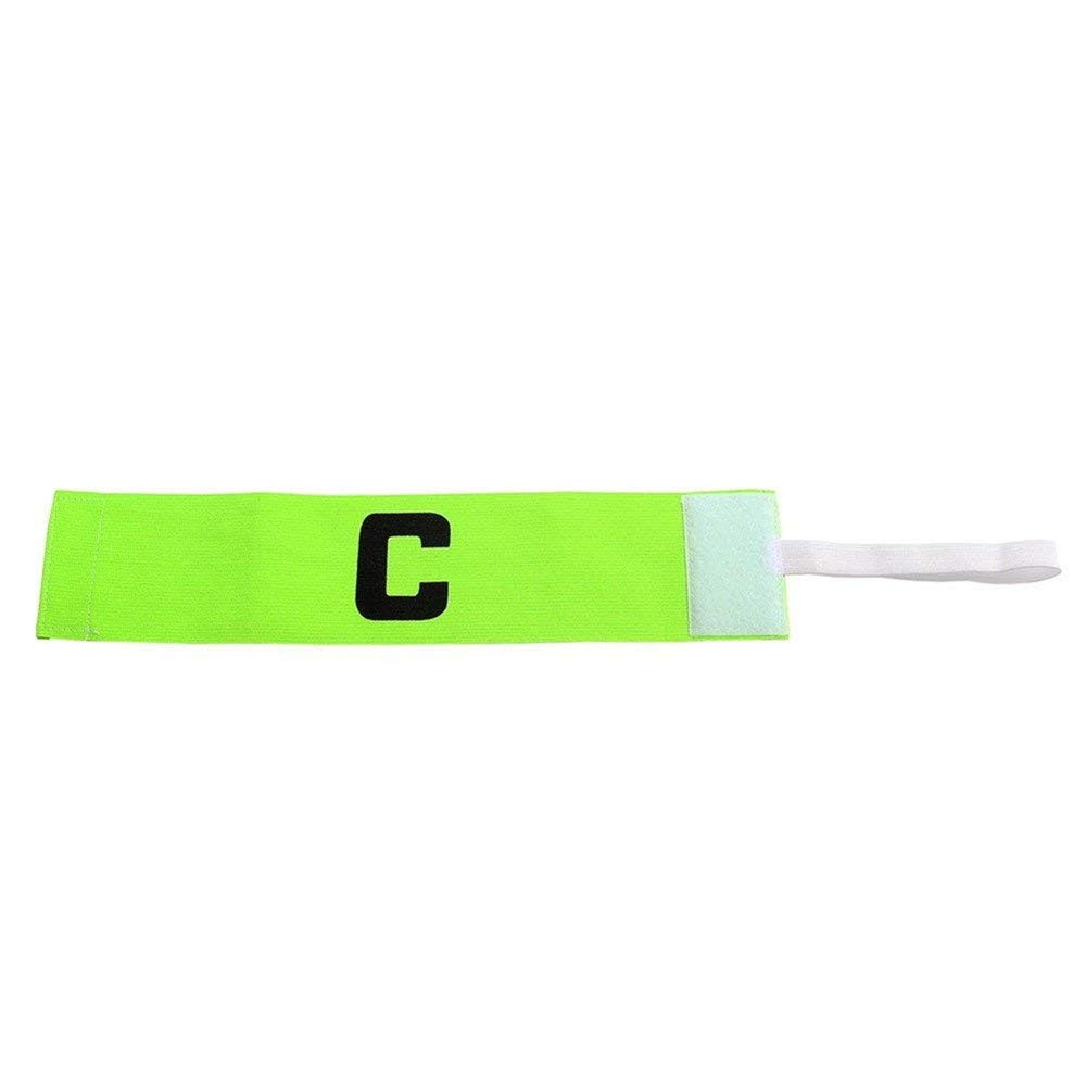 Wendy Mall 4Pcs Colorful Football Soccer Player Sport Flexible Sports Adjustable Bands Captain Armband Kids Youth