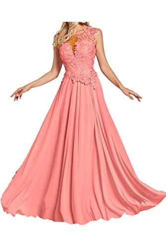 A Mujer Topkleider para en Wassermelone o Corte Trapecio Vestido 42 1q01XF