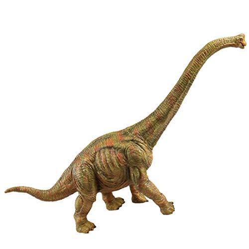 (RECUR Toys Brachiosaurus Dinosaur Jurassic Toys,Soft Plastic Hand-Painted Figurine Model 12.8inch - Realistic 1:65 Jurassic Prehistorical Dinosaur Action Figures , Birthday Gift for Boys Kids Girls)
