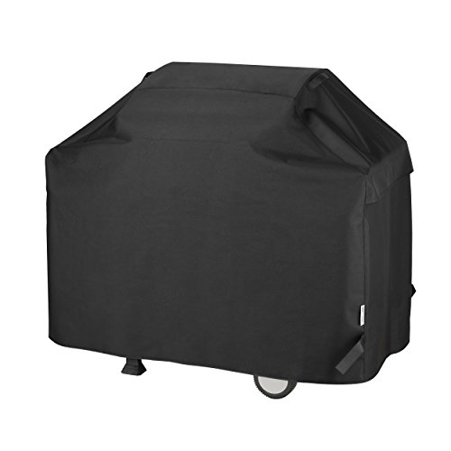 Unicook Heavy Duty Waterproof Barbecue Gas Grill Cover, 55-inch BBQ Cover, Special Fade and UV Resistant Material, Durable and Convenient, Fits Weber Char-Broil Nexgrill Brinkmann Grills and More ()