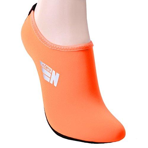 Nbera De Secado Rápido, Peso Liviano, Piel De Agua, Zapatos De Corte Bajo Ias019-orange