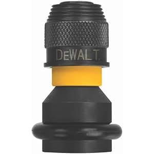 DEWALT DW2298 1/2-Inch Square to 1/4-Inch Adaptor Hex Rapid Load