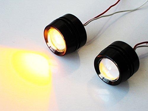 Motorbike Projector LED Indicators - Flush Mount - Aluminium Alchemy Parts Ltd