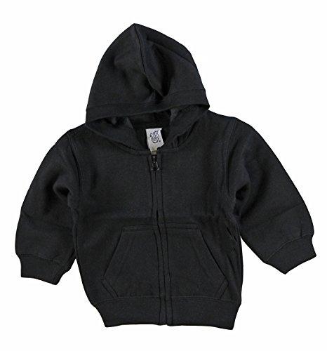 Unisex Black Hoodie - 4