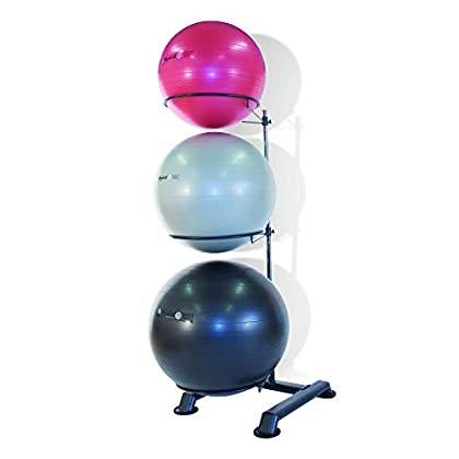 Image of Exercise Ball Accessories Physical Company 3 Swiss Ball Storage Tree