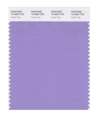 (PANTONE Smart 16-3823X Color Swatch Card, Violet Tulip)