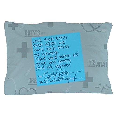 CafePress - Greys Anatomy Sticky Note - Standard Size Pillow Case, 20