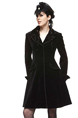 Velvet Vintage Coat - 4