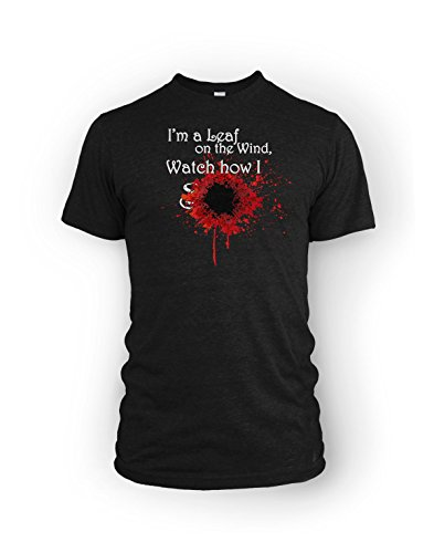 Leaf on the Wind Firefly Serenity RPG fan T-Shirt -Men's Large (Firefly Clothing)