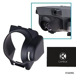 CamKix Sun Hood Compatible with DJI Mavic Pro/Platinum – Drone Camera Shield/Shade/Visor – Blocks Excess Sunlight for Enhanced Video Footage – Maximum Gimbal Freedom – Minimum Lens Flare and Glare 41o2VxcDFZL