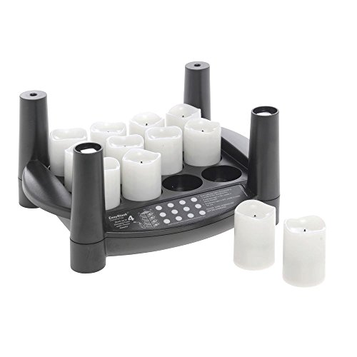 Easy Stack Charging Tray Black by CANDLE IMPRESSIONS (NORTHERN INT.)