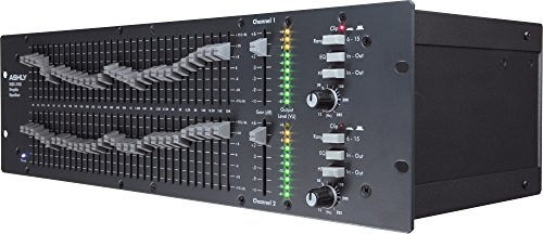 Ashly GQX-3102 2 Channel 1/3 Octave Graphic Equalizer by Ashly (Image #6)