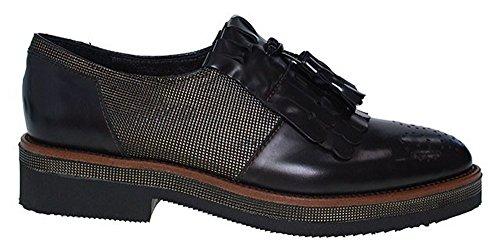 de Marron à Lacets Marron Chaussures Maripé Marron Ville Pour Femme 5a6BW1x