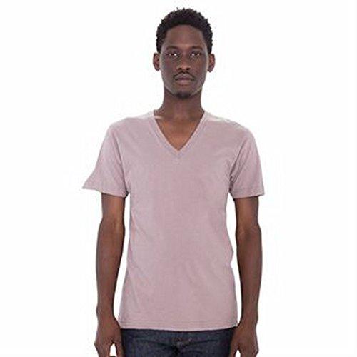 Fine jersey short sleeve v-neck (2456)(White, L)