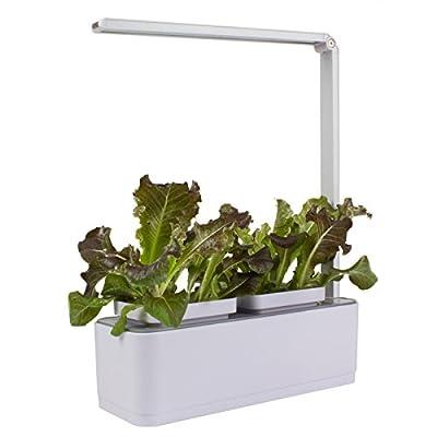indoor gardening kit simlife led plant light with watering gardening pots herb garden desktop lamp best - Indoor Garden Kit
