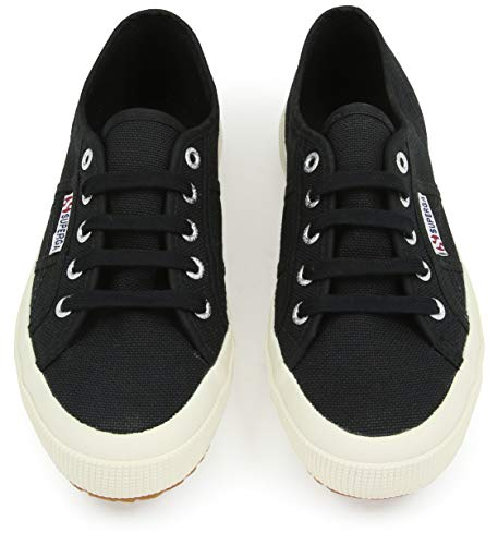 Adults' 2750 Classic Black Superga Cotu Low Unisex 999 Sneaker top Favxnx7