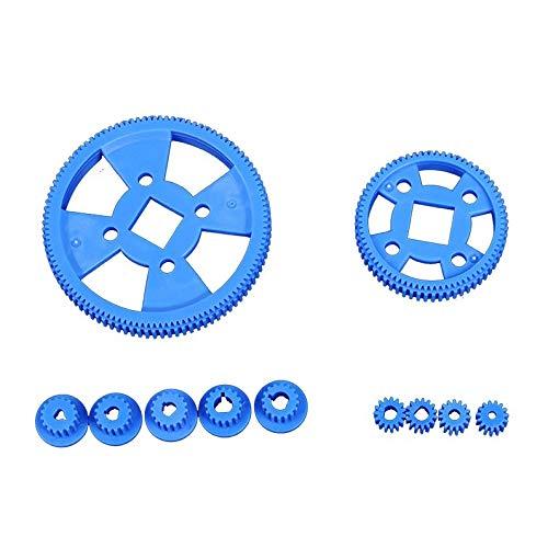 deYukiko 61 Styles Plastic Gears COG Wheels All The Module Robot Parts DIY Necessary