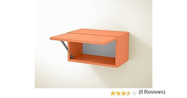 Mueble auxiliar componible ZEUS 3, módulo alto con puerta basculante (Arancio): Amazon.es: Hogar