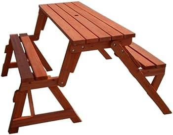 Merry Garden Picnic Table and Garden Bench