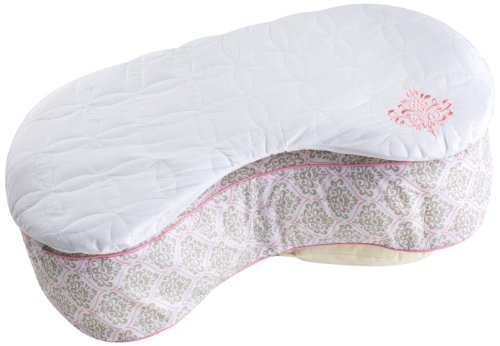 Bliss Nursing Pillow Quilted Slip Cover, Damask by Summer Infant (Image #1)