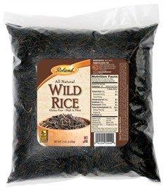 Roland Wild Rice, 5-Pound Bag by Roland