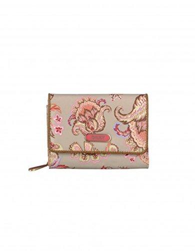 Oilily S Wallet Purse Sand Multicolour Floral Tan