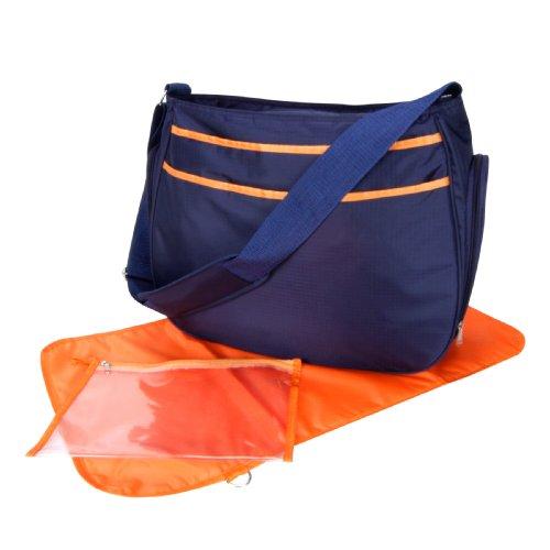 Trend Lab Navy/Orange Ultimate Hobo