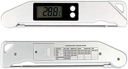 Pliable Thermom/ètre /éLectronique Gaoominy Thermom/ètre de Barbecue Ts-Bn61 Thermom/ètre pour Aliments de Cuisine Faci Le /à Utiliser et /à Transporter Barbecue