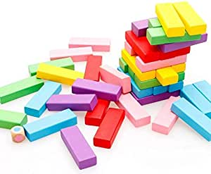 Building Blocks Children Wooden Toy Colorful