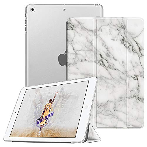 Fintie Case for iPad Mini 3/2 / 1 - Lightweight Smart Slim Shell Translucent Frosted Back Cover Protector Supports Auto Wake/Sleep for Apple iPad Mini 1 / Mini 2 / Mini 3, Marble (Case Ipad Lightweight 3 Mini)