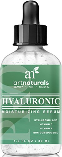 Art Naturals Hyaluronic Acid Serum 50 ml -BEST Anti Aging Skin Care Product for Face Clinical Strength With Vitamin C Serum, Vitamin E & Green Tea -Reduces Wrinkles & More – For Youthful & Radiant Skin image
